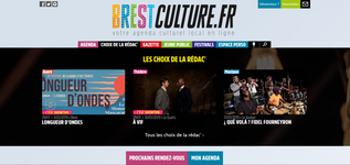 Brest Culture, agenda culturel local en ligne